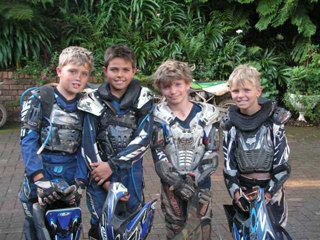 Shaun, Jordan, Rory & Luke
