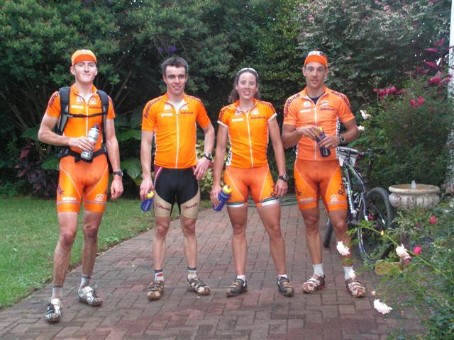 The Dutch National Mountain Bike Racing Team